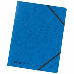 FALKEN Eckspanner 11286473 DIN A4 Colorspankarton blau