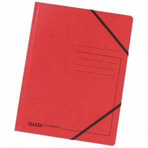 FALKEN Eckspanner 11286481 DIN A4 Colorspankarton rot