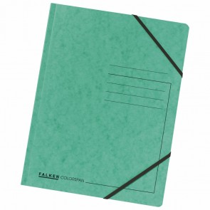 FALKEN Eckspanner 11286499 DIN A4 Colorspankarton grün