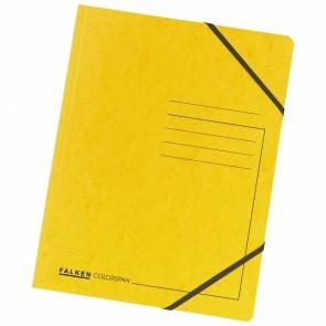 FALKEN Eckspanner 11286648 DIN A4 Colorspankarton gelb