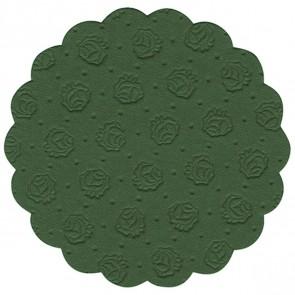 PAPSTAR Tassenuntersetzer 14241 dunkelgrün 20 Stück