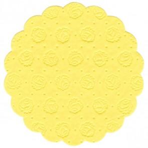 PAPSTAR Tassenuntersetzer 14246 gelb 20 Stück