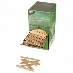 PAPSTAR Pommes-Gabeln Holz 1000 Stück
