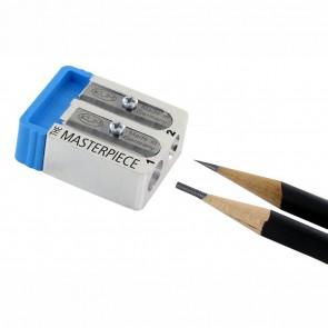 KUM Spitzer Masterpiece Magnesium für Bleistifte 8mm incl. 2 Ersatzmesser