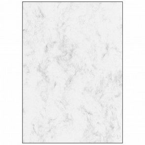 SIGEL Designpapier DP371 A4 90g 100 Blatt Marmor grau