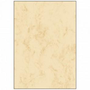 SIGEL Designpapier DP372 A4 90g 100 Blatt Marmor beige