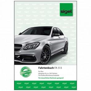 SIGEL Fahrtenbuch FA513 A5 32 Blatt für PKW