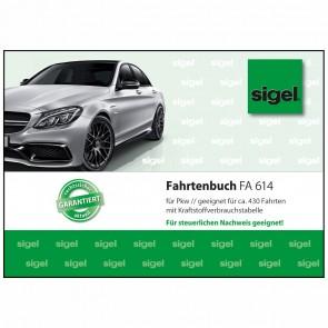 SIGEL Fahrtenbuch FA614 A6 40 Blatt PKW