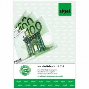 SIGEL Haushaltsbuch HA514 A5 40 Blatt