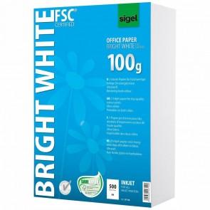 SIGEL Inkjetpapier ultraweiß 100g 500Blatt A4