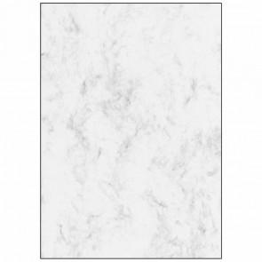 SIGEL Marmorpapier T1080 (DP371) A4 grau 250 Blatt XXL Sparpack
