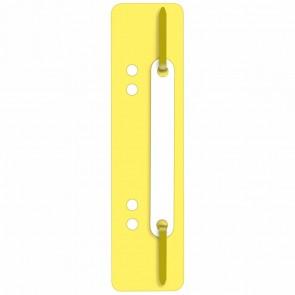 WEKRE Heftstreifen 35 x 150mm Kunststoff gelb 25 Stück