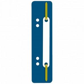 WEKRE Heftstreifen 35 x 150mm Kunststoff dunkelblau 25 Stück