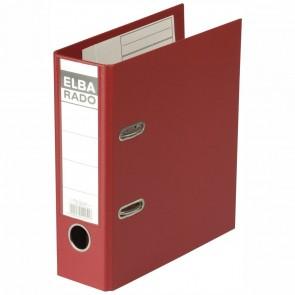 ELBA Ordner 10597 rado plast PVC A5 hoch 75mm rot