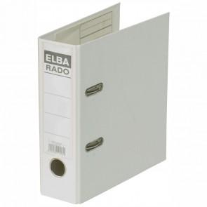 ELBA Ordner 10597 rado plast PVC A5 hoch 75mm weiß