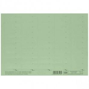 ELBA Beschriftungsschild grün 83582GN 58x18mm (1BG = 50 Schilder)