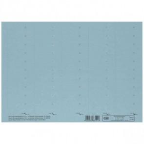 ELBA Beschriftungsschild blau 83582BL 58x18mm (1BG = 50 Schilder)