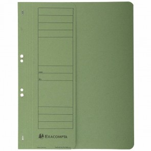EXACOMPTA Ösenhefter Forever A4 1/2 Deckel grün