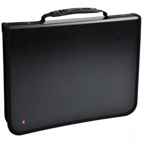 EXACOMPTA Konferenzmappe 55634E Exafolder A4 4-Ring schwarz