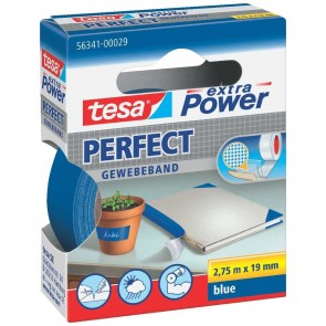 TESA Gewebeband extra Power 56341 19mm x 2,75m blau