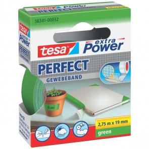 TESA Gewebeband extra Power 56341 19mm x 2,75m grün