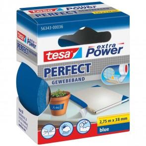 TESA Gewebeband extra Power 56343 38mm x 2,75m blau