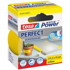 TESA Gewebeband extra Power 56343 38mm x 2,75m gelb