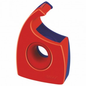 TESA Handabroller Easy Cut 57444 bis 33m x 19mm rot / blau