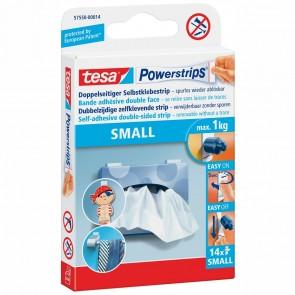 TESA Powerstrip small 57550  bis 1kg 14 Stück