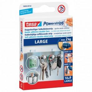 TESA Powerstrips 58000 Large bis 2 kg weiß 10 Stück