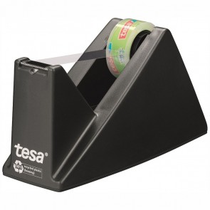 TESA Tischabroller Sparpack + 1 Rolle Eco&Clear 10mx15mm