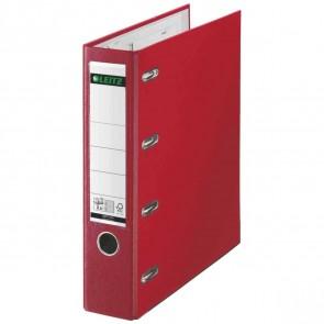 LEITZ Doppelordner Kunststoff (PP) 1012 A4 75mm 2xA5 quer rot