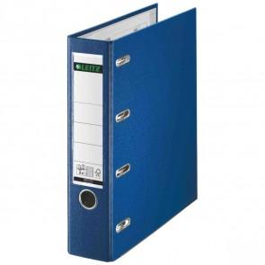 LEITZ Doppelordner Kunststoff (PP) 1012 A4 75mm 2xA5 quer blau