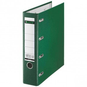 LEITZ Doppelordner Kunststoff (PP) 1012 A4 75mm 2xA5 quer grün