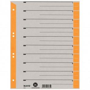 LEITZ Trennblätter 1652 A4 230g Tab orange 100 Stück