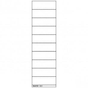 LEITZ Beschriftungsschild 1901 60x21mm weiß 100 Stück