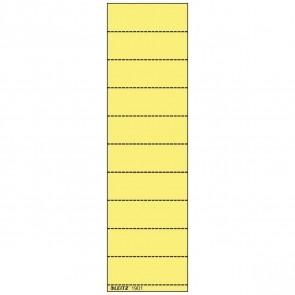 LEITZ Beschriftungsschild 1901 60x21mm gelb 100 Stück