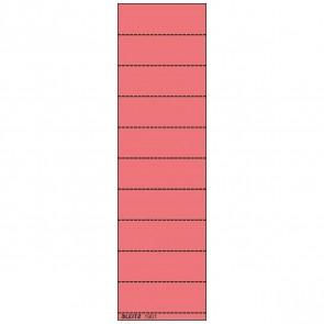LEITZ Beschriftungsschild 1901 60x21mm rot 100 Stück