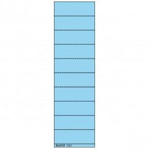 LEITZ Beschriftungsschild 1901 60x21mm blau 100 Stück