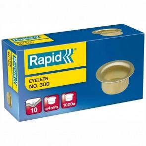 RAPID Öse Nr. 300 4mm vermessingt 1000 Stück für Combi 80/300