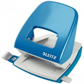 LEITZ Locher NeXXt 5008 Metall hellblau bis 30 Blatt