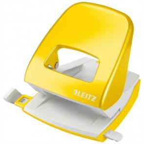 LEITZ Locher NeXXt 5008 Metall gelb metallic bis 30 Blatt