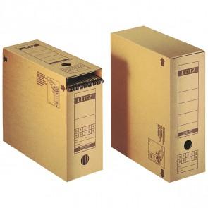LEITZ Archivschachtel 6086 A4 12cm mit Verschlußklappe