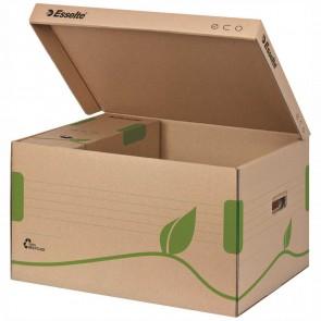ESSELTE Archiv Container ECO 623918 mit Deckel braun