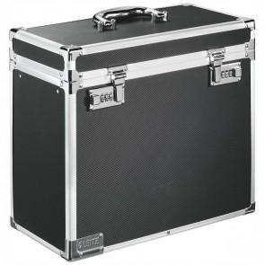 LEITZ Box für Hängemappe 6716 Aluminium schwarz für 15 Mappen