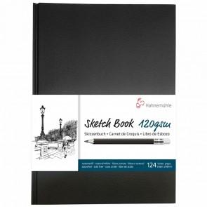 HAHNEMÜHLE Skizzenbuch A5 gebunden 120g naturweiss 128 Seiten