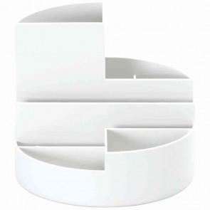 MAUL Rundbox 41176-02 weiß 6 Fächer