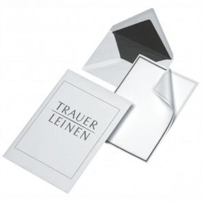 ELEPA Briefpapier Trauerpost 17080/0 5x Kuverts C6 + 5x Bogen A4 gefalz auf A5