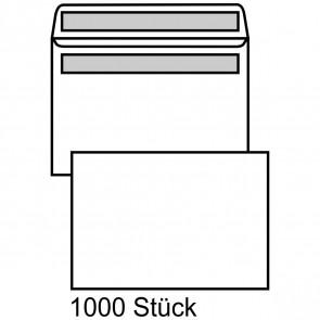 MAILMEDIA Briefumschlag B6 ohne Fenster selbstklebend weiß 1000 Stück
