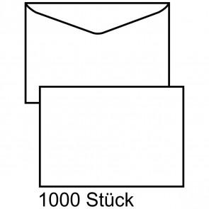 MAILMEDIA Briefumschlag B6 ohne Fenster naßklebend weiß 1000 Stück